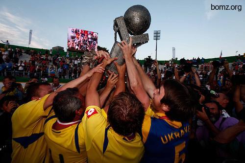 Украина выиграла чемпионат мира среди бездомных 2010
