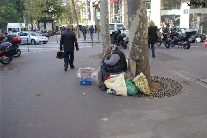 Парижская бездомная