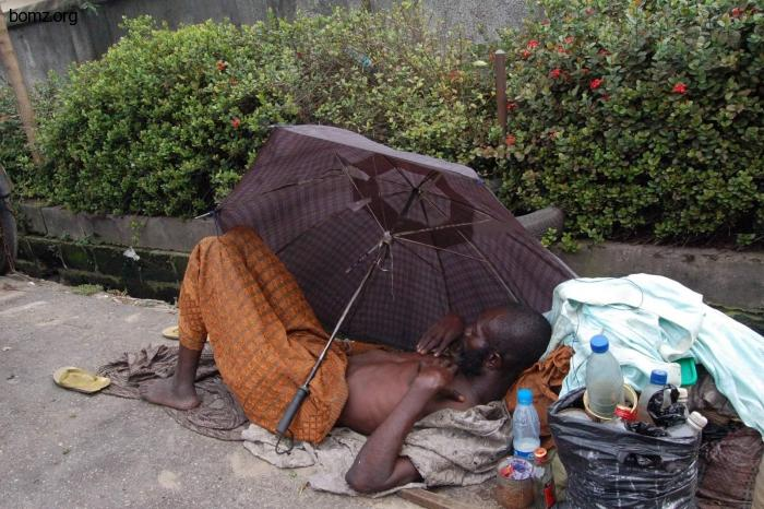 Nigeria homeless