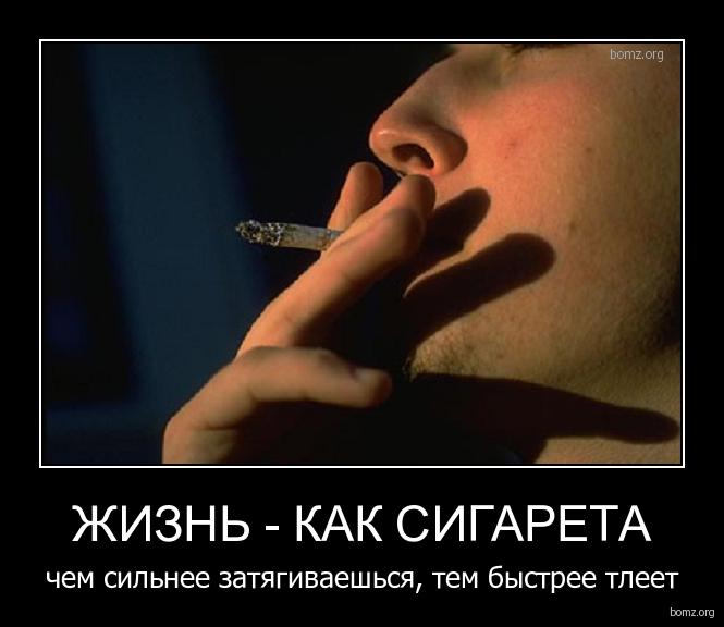 жизнь - как сигарета : жизнь - как сигарета