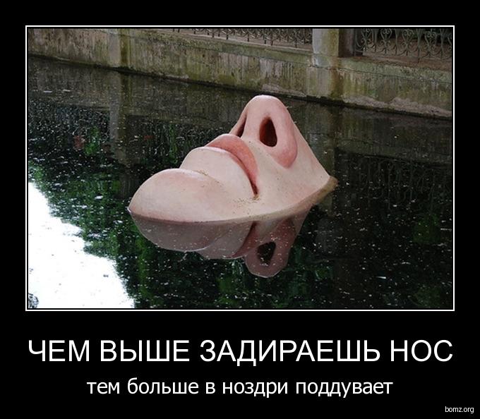Анекдот Нос