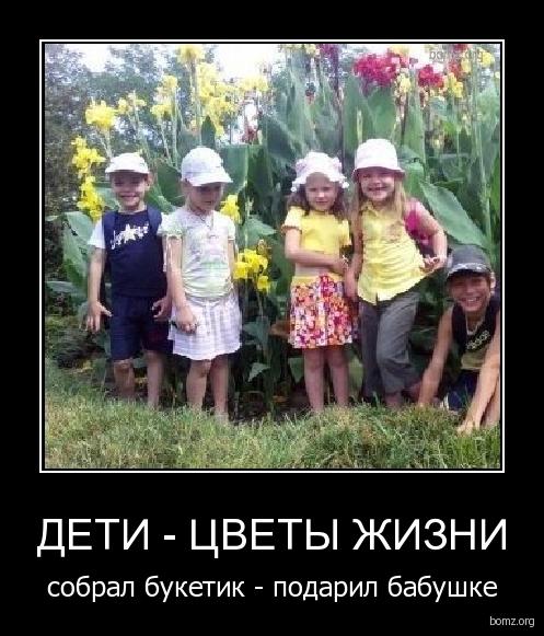 цветы жизни дети картинки