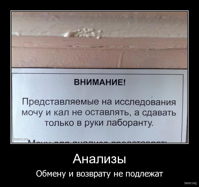 Бесплатный Анализ Мочи Анекдот