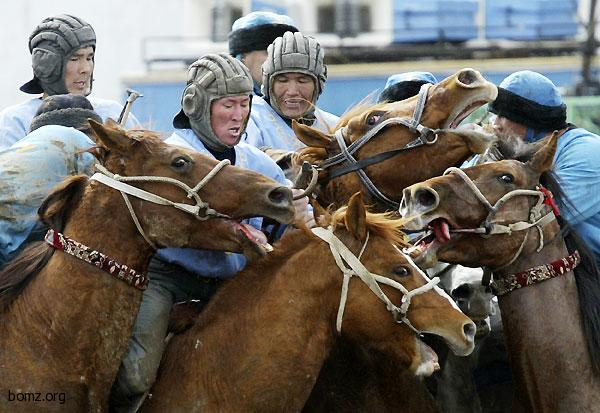 Монгольские танкисты