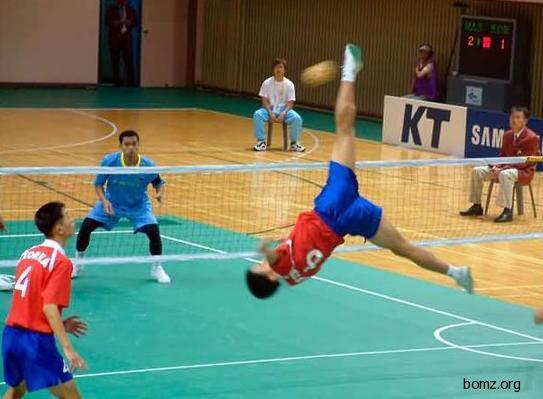 Финт на волейболе