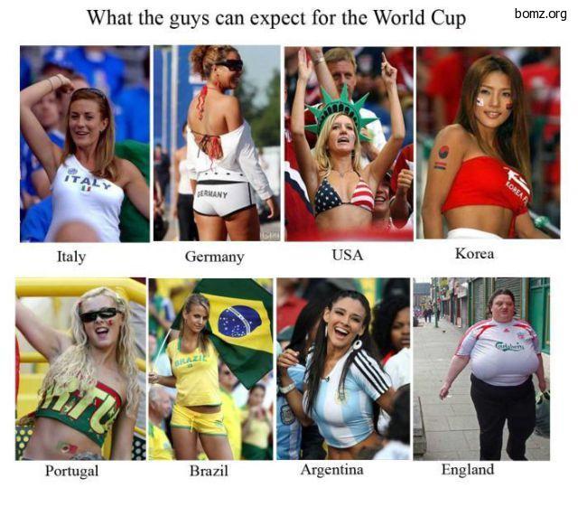 фанатки из разный стран