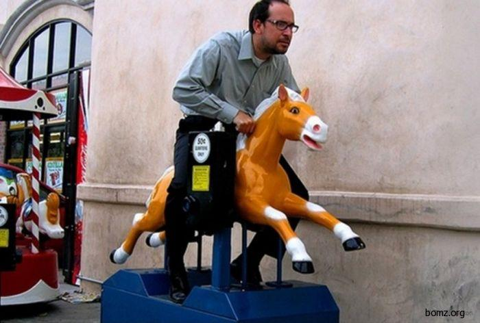 мужик на лошаде