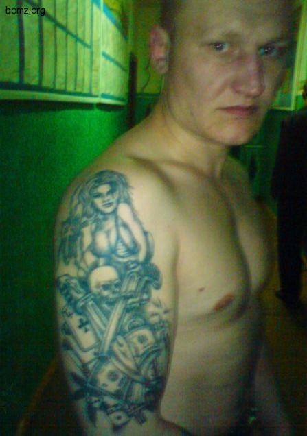 Фото тату тюремных бардаков