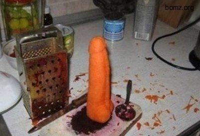 Морковка член (хуй)