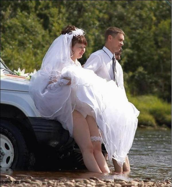 Свадьба в реке