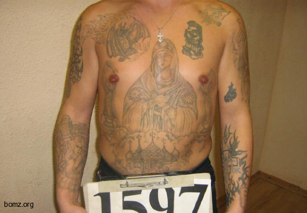 Воровские татуировки: значение, фото татуировки, эскизы