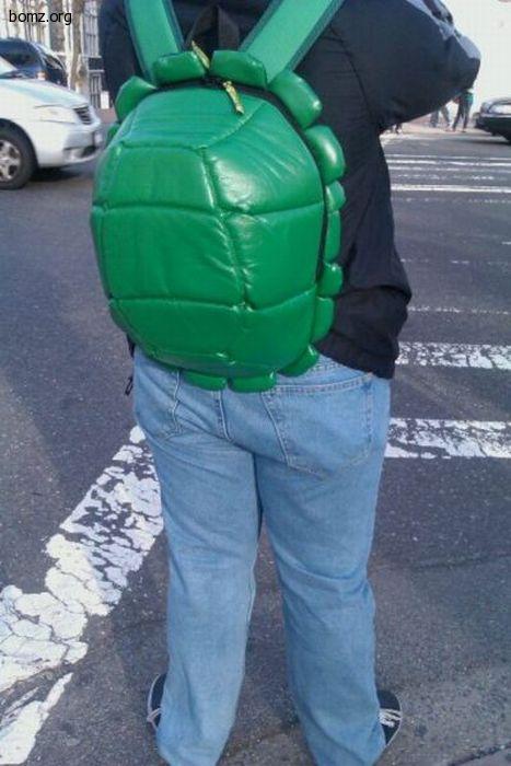 черепашкин рюкзак