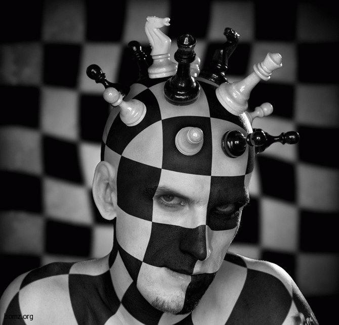 Шахматная голова