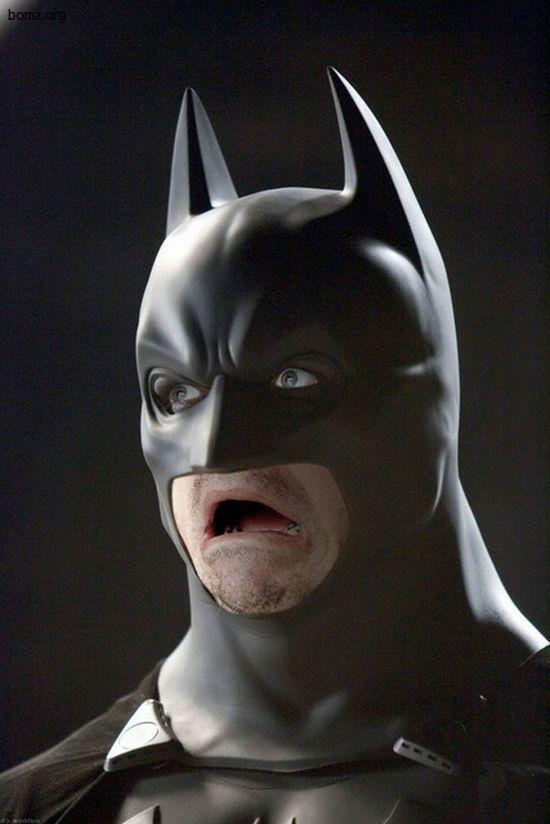 Бэтмен испугался