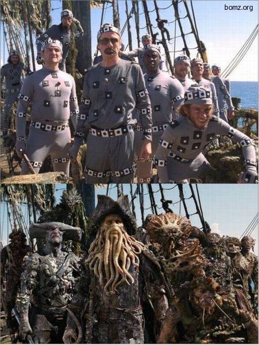 пираты без грима