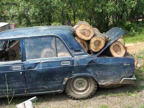 За дровами