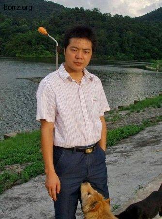 китаец и его пёс