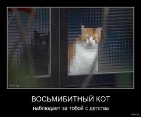 Восьмибитный кот : Восьмибитный кот
